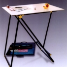 Drawing table and easel