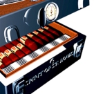 Humidor for cigars SPIRIT OF ST. LOUIS¨ Design Francois Beydoun| Cave a cigares SPIRIT OF ST. LOUIS¨ Design Francois Beydoun
