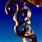 © SŽesame, son support : bronze, bois d acajou, bois d eŽbene, meŽtal doreŽ. © Sesame, its support made from bronze, mahogany, ebony, gilt metal - Limoges FRANCE