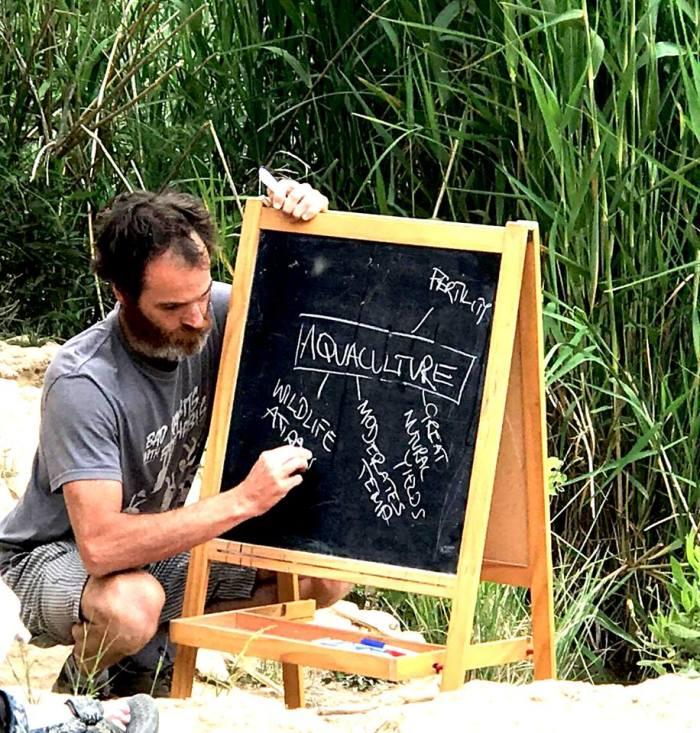 Intervenant : George Christofis, fondateur du Circle Permaculture