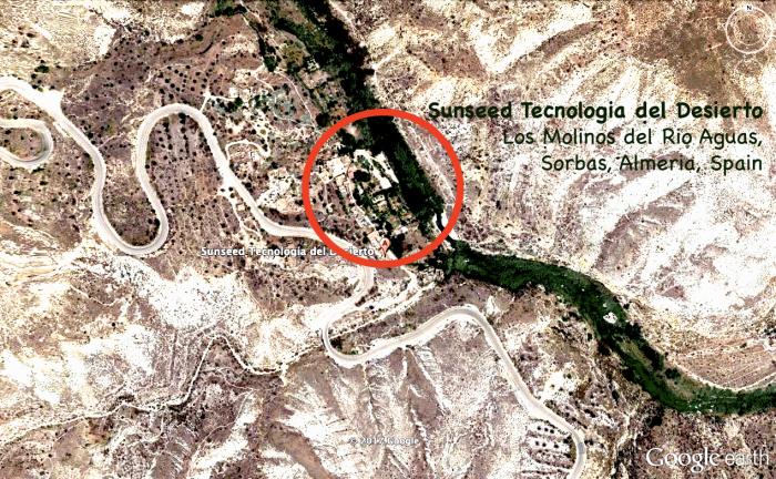 Vue aérienne de Sunseed